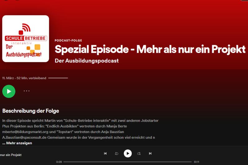 """Jetzt neu: """"Der Ausbildungspodcast"""" – Ausbildungstipps auf die Ohren für Berliner Unternehmen"""