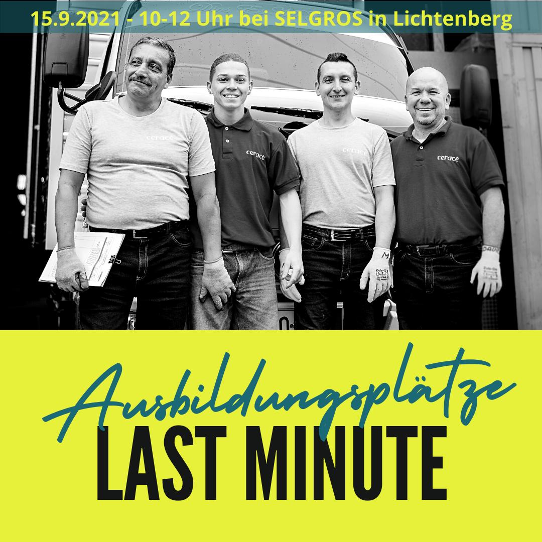 Read more about the article Veranstaltungshinweis: Last-Minute Ausbildungsplatzbörse in Lichtenberg